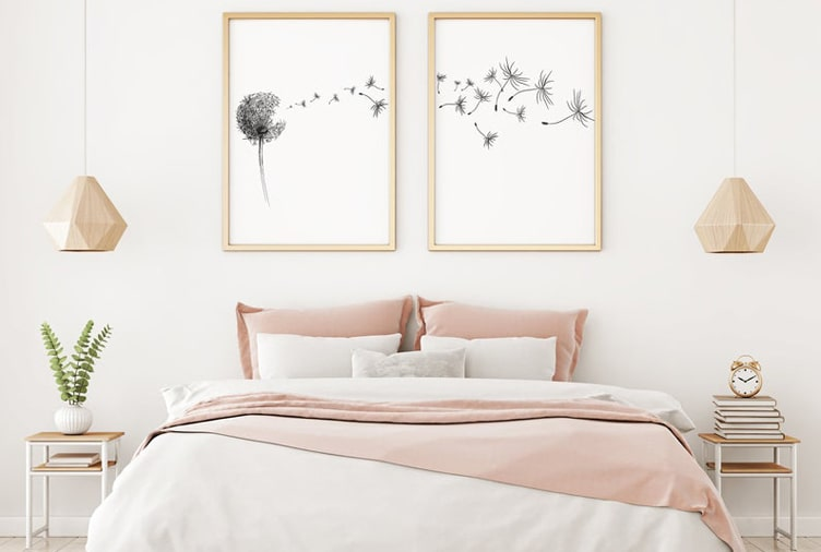 Tips for decorating a minimalist bedroom