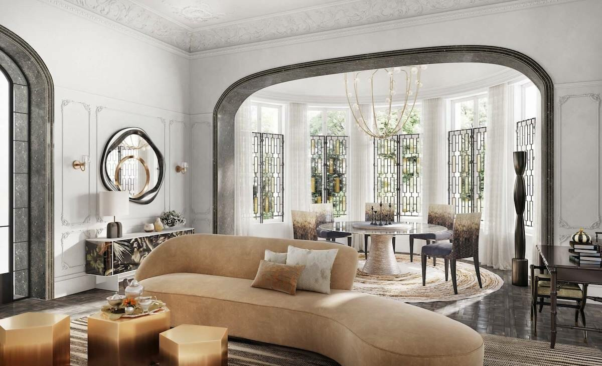 Decorate in luxury home style