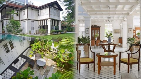 What is a colonial style house?